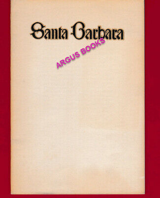 1926 Promotional Booklet SANTA BARBARA County SAMUEL ADELSTEIN PHOTOS California