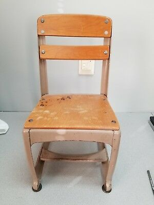 Vintage Children's School Chair, American Seating Company