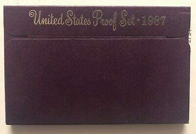 1987-S  **** United States Proof Set ****  L@@k At Pictures!!!!!   #2794