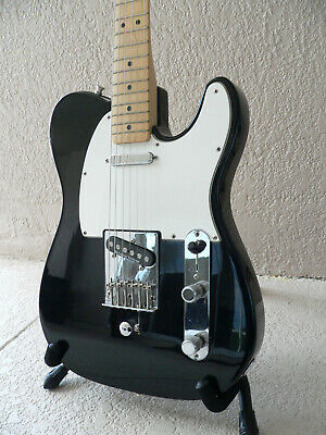 B Bender Guitar >> 1994 Fender B Bender Telecaster Electric Guitar Black W Duncan