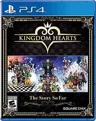 Kingdom Hearts The Story So Far PS4 1.5 + 2.5 Remix HD + 2.8 SEALED NEW