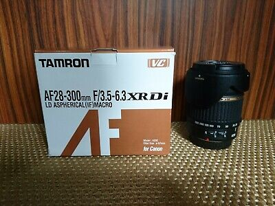 Tamron LD 28-300mm f/3.5-6.3 VC XR Di LD Aspherical Lens for Canon with box.