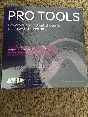 Avid Pro Tools 2018 Perpetual License w/ 1 yr upgrade support plan