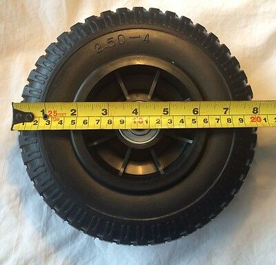 "8"" Tires FLAT FREE Wheels! Puncture proof! Lightweight ,Sturdy and Non-Marking"