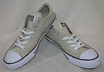 15fc17f89a1 Converse Women s All Star Madison OX Light Surplus Black Sneakers-Size 7 8