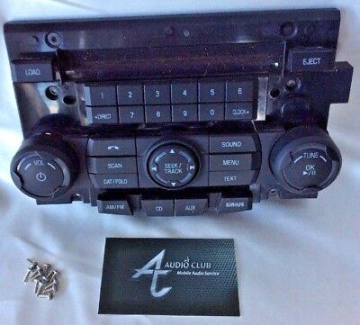 Ford Focus 2010 2011 Radio Faceplate Sanyo 9s4t-18a802-ab 14794487