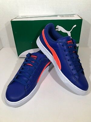 f6edd8c9e80c PUMA Basket Classic Badge Mens Size 5 True Blue Fashion Sneakers Shoes  X16-1522