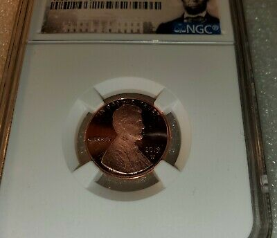 "2019-W Proof First ""W"" Mint Mark Lincoln Cent NGC Gem Proof First Day of Issue"