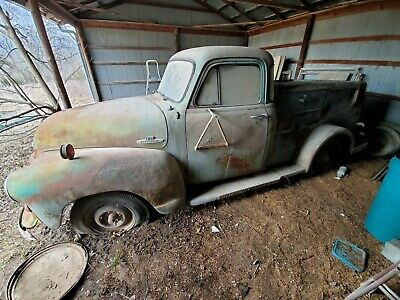 1955 Chevrolet Other Pickups 5 window telephone truck Barn find patina 1st series 1955 Chevrolet 3100 5 window Bell telephone truck NR