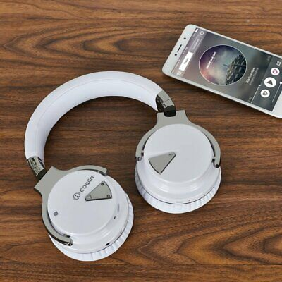 COWIN E7 Over Ear Headset Active Noise Cancelling Wireless Bluetooth Headphones