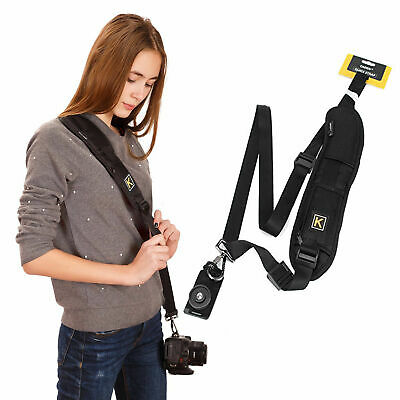 Camera Single Shoulder Belt Strap Sling For SLR DSLR Cameras Canon Sony L8Q4B