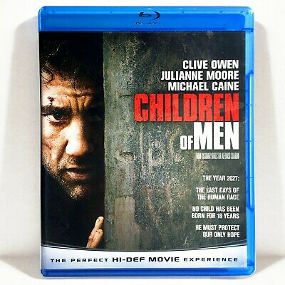 Children of Men (Blu-ray, 2009, Widescreen) Like New !  Clive Owen