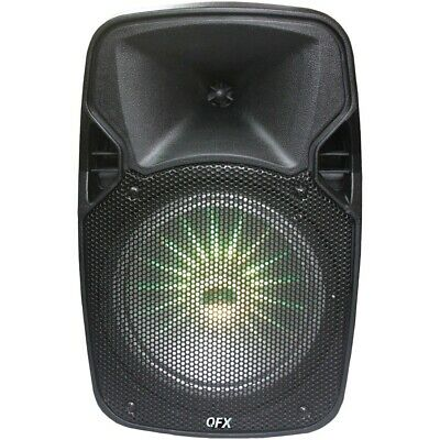 "New Qfx 8"" Rechargeable Bluetooth Party Speaker QFXPBX811SM"