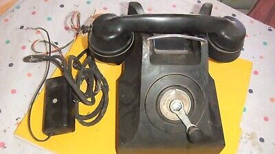 Collectable Antique bakelite Black phone