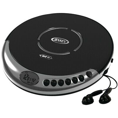 New Jensen Personal Cd Player With Bass Boost JENCD60C