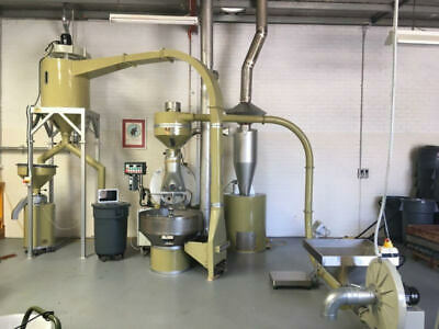 Complete 30kg Commercial DiScaf Coffee Roaster