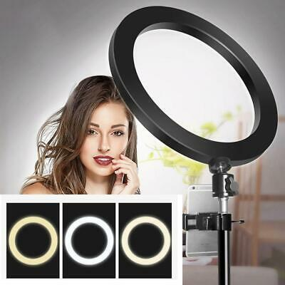 Studio Phone Live Tripod Bracket photography 26cm LED Fill Ring Photo Lighting S