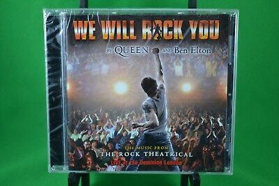 We Will Rock You  London Cast CD 2003 Queen and Ben Elton BRAND NEW SEALED