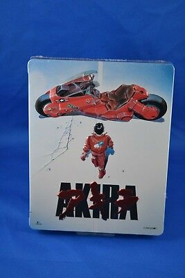 AKIRA  Collector's Case Steelbook Blu-ray + DVD  2017 3 Discs NEW  SEALED