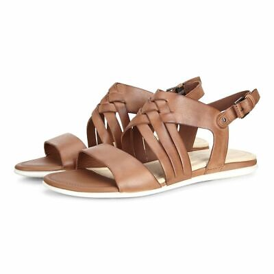 NEW ECCO TOUCH BRAIDED SANDAL Sz. 8 8.5 39 CHILI RED PIMENT ROUGE 266113