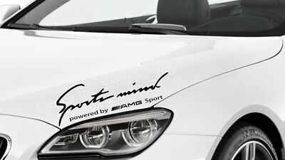 Sports Mind Powered By Peugeot Sport 12 Bonnet Side Decal