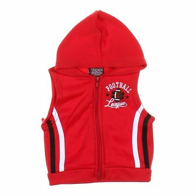 Tuff Guys Baby Boys Vest, size 6 mo,  red,  polyester