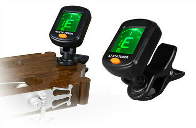 AT-200D Aroma High Quality Clip On Guitar Tuner Portable Universal Digital Tuner