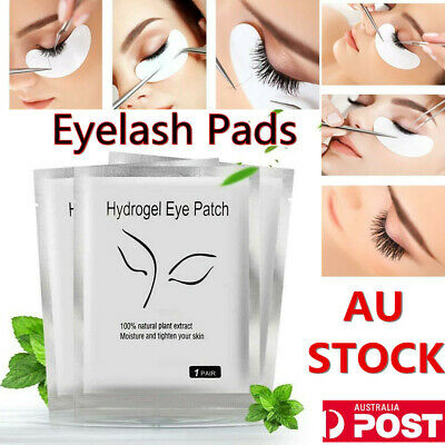 50~2000 X Eye pads Eyelash Pad Gel Patch Lint Free Lashes Extension Mask Eyepads