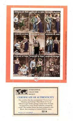 Tchad French Colonies - Commemorative Sheet With Certificate Lot (Tchad 08 )