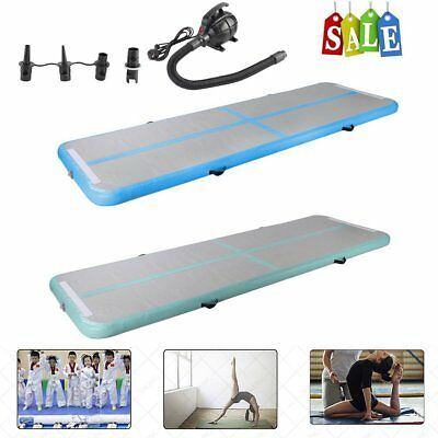 Airtrack Gonflable Tapis Air Tumbling Track Gymnastique Training Pad Pompe à ai