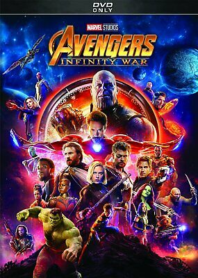 Avengers: Infinity War DVD 2018  (Free Fast Shpping)