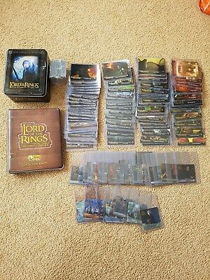 Lord Of The Rings Trading Cards Return of the King, The Two Towers & Fellowship