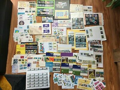 Estate Collection Stamps: Cook Island, Papua New Guinea, Norfolk Island, etc