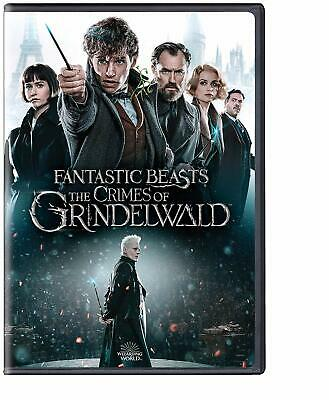 Fantastic Beasts: The Crimes of Grindelwald DVD 2019  (Free Fast Shipping)