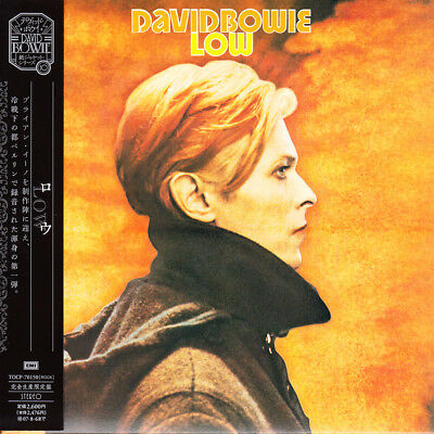 David Bowie Low 2007 Japan Mini LP CD L/E With Obi Out of Print HTF Very Rare