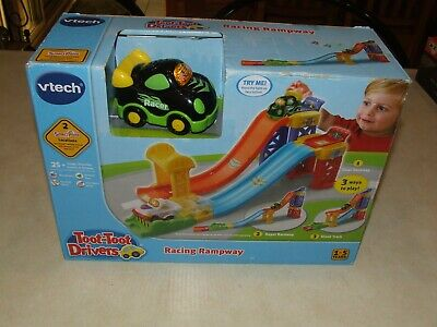 Vtech Toot-Toot Drivers Racing Rampway - New