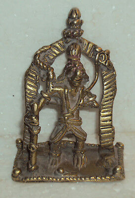Antique Traditional Indian Ritual Tribal Bronze Statue God SHIVA ##1