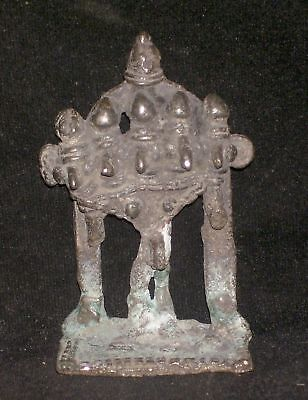 Antique Traditional Indian Ritual Rare Bronze Five Headed Shiva
