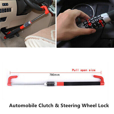 Excellent Anti Theft Car Steering Wheel Lock Car Van Security Device Clutch Lock