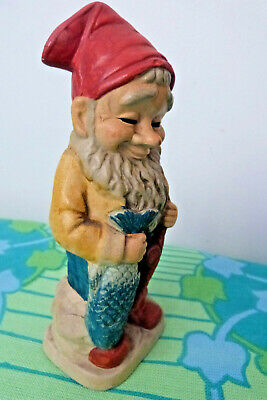 Vintage Garden Gnome 1970's Made in Japan Pottery Money Box Style