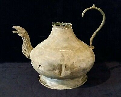 Greek / Roman Artefact - Bronze GRIFFIN Jug / Pitcher - Circa 100 BC/100 AD