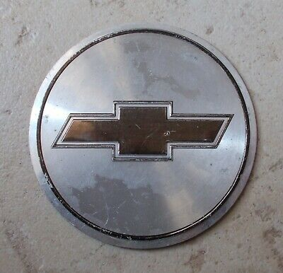 Insigne Plaque Chevrolet silver USA americana automobilia Muscle car