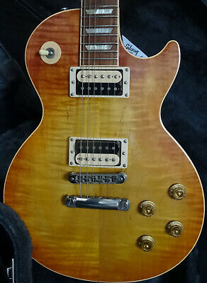Gibson Les Paul Standard Faded Tobacco Burst 2005 1st Year All Solid Great Tone