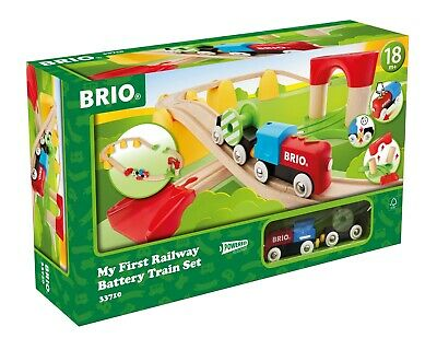 BRIO - My First Railway Battery Only Train Set, 25 pcs