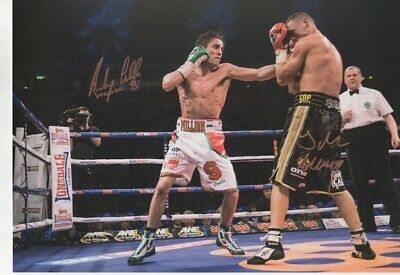 Anthony Crolla & John Murray Signed A3 Photograph (AC3) - Hand Signed with COA