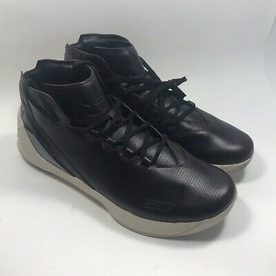 e46ccc4c418 Under Armour Men s UA Curry 3 Lux Limited Edition Shoes Size 11 Oxblood  Leather