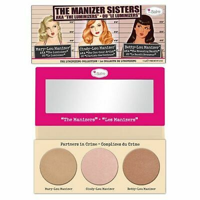 The Balm Manizer Sisters Bronzer Highlighter Palette Compact The Luminizers UK