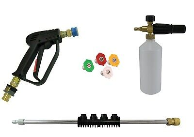 Quick Release Gun Snow Foam Lance Wash Nozzles Lance Extension Karcher EasyForce