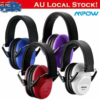 Mpow Safety Ear Muffs Noise Cancelling Headphone fr Kid Child Hearing Prot BP