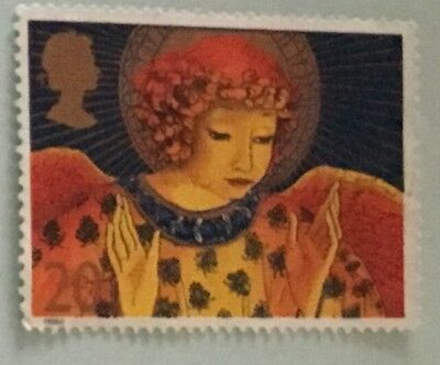 8X-used-1998-Angels-Christmas postage stamps-decoupage-paper mache